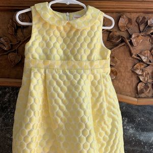 Easter Sleeveless Dress, Peter Pan collar